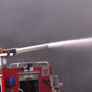 Голям пожар на територията на община Септември
