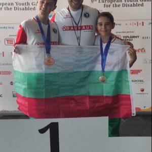 """Европейски титли и медали за две борбени момчета от СК""""Шампион"""""""