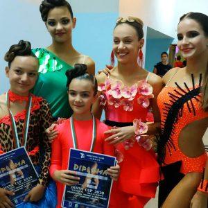 """Изключителен успех за СК""""Импулс""""! Седем златни медала от държавни първенства по спортни танци"""