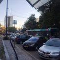 Катастрофа между автобус и Ауди спря движението в района на старата автогара
