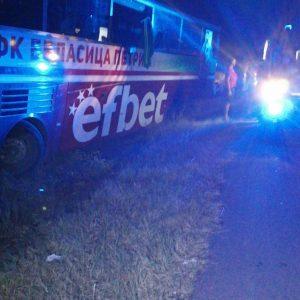 На магистралата: Инцидент с автобуса на Беласица, шофьорът е починал
