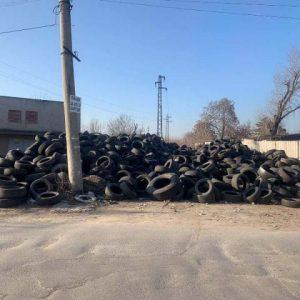Общината с предписание за незаконно сметище за гуми
