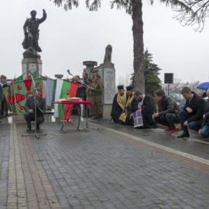 Поклон пред героите в битката при Булаир
