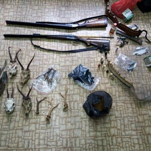 Полицаи откриха незаконно оръжие, дивечово месо и живо сърне при акция в Побит камък