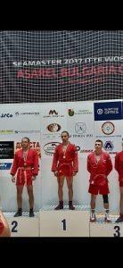 След доброволен труд срещу Ковид и карантина Иван Вакарелски се окичи с медал в бойното самбо