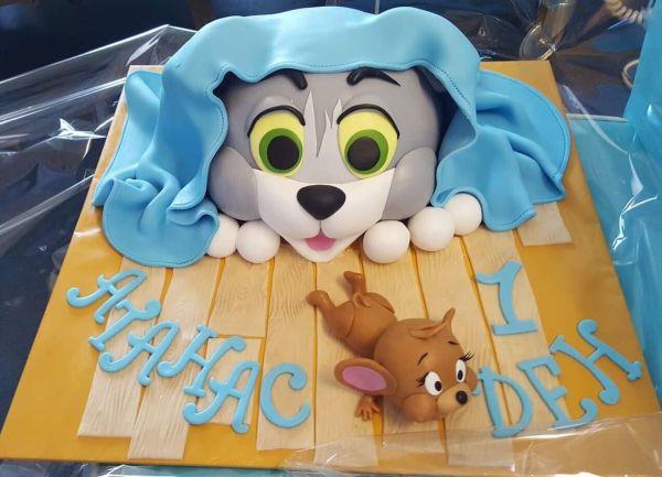 Торта Атанас на 1 ден