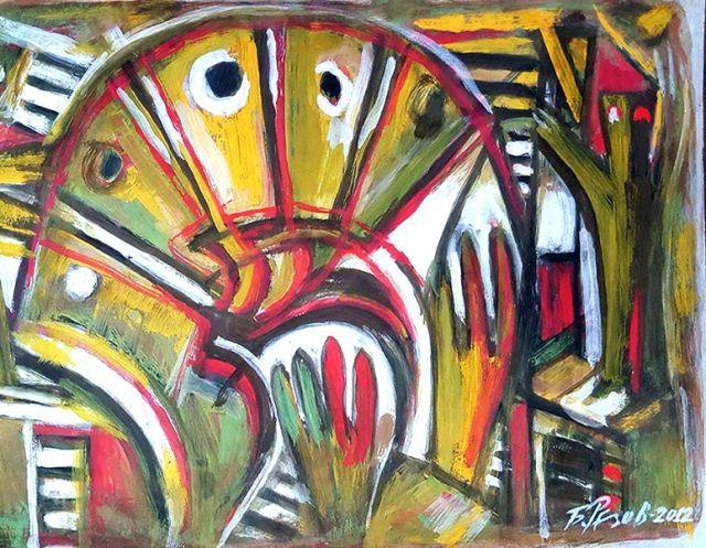 В Пазарджик подредиха юбилейна изложба на Борис Резов