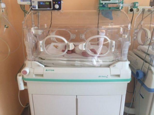 Капачки осигуриха кувьоз на велинградската болница