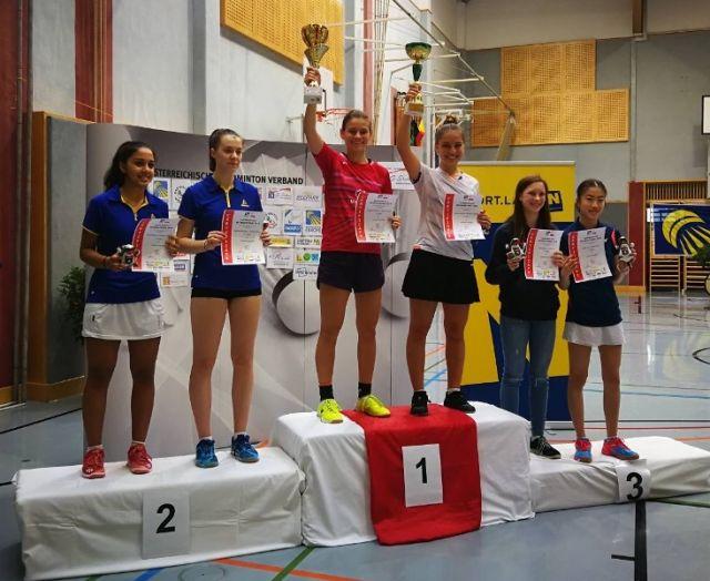 Гери Павлова спечели на двойки бадминтон турнира в Австрия