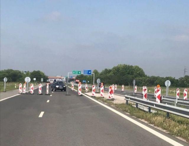 """Движението на АМ """"Тракия"""" в Пазарджишко е ограничено"""