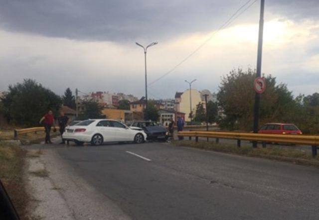 Катастрофа в Пазарджик на изхода за Ивайло