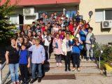 """57 деца взеха участие в регионално състезание """"Действия при наводнения и последващи кризи""""."""