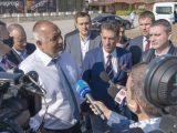 Борисов и Попов инспектираха пътните ремонти в Пазарджик