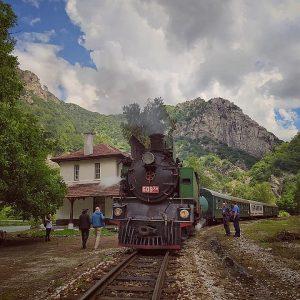 За Съединението пътуване с парен локомотив